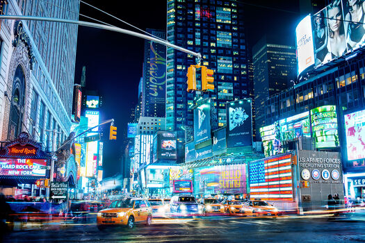 Photo Times Square III - Jörg Dickmann