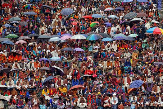 Photo FESTIVAL AU BHOUTAN - Matthieu Ricard