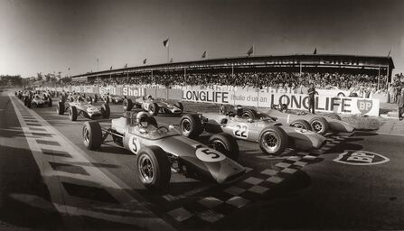 DÉPART GRAND PRIX D'ALBI 1967