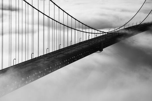 Photo Golden Gate Bridge in Fog - Christopher Bliss
