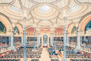 SALLE LABROUSTE BIBLIOTHÉQUE DE L'INHA PARIS 2017 II