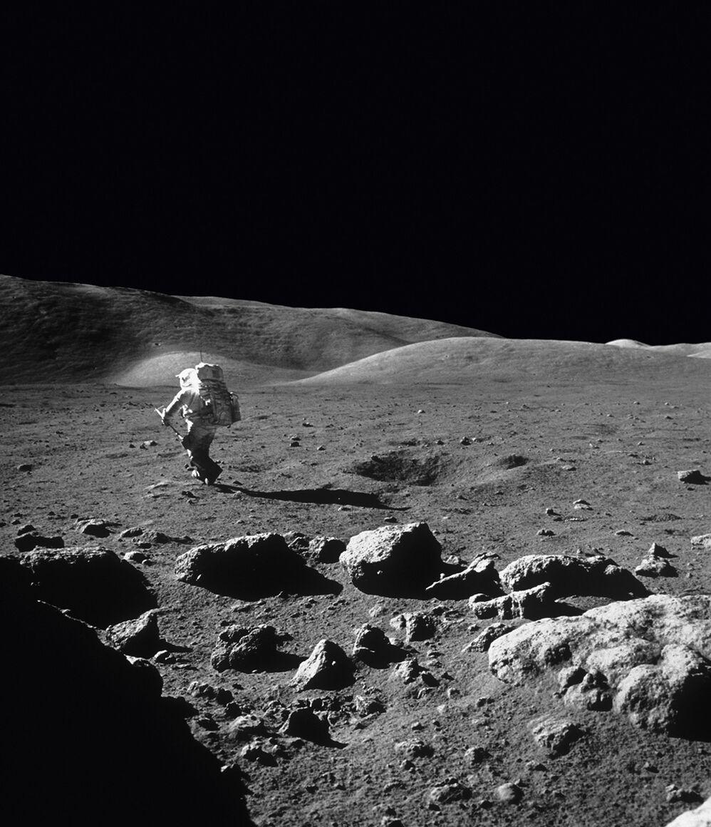 Photographie: Harrison Schmitt, Apollo 17, Eugène Cernan ...