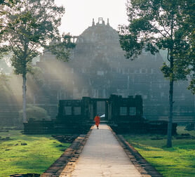 Photo BONZE  À ANGKOR - VuThéara Kham