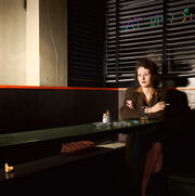1943 GIRL SITTING ALONE WASHINGTON