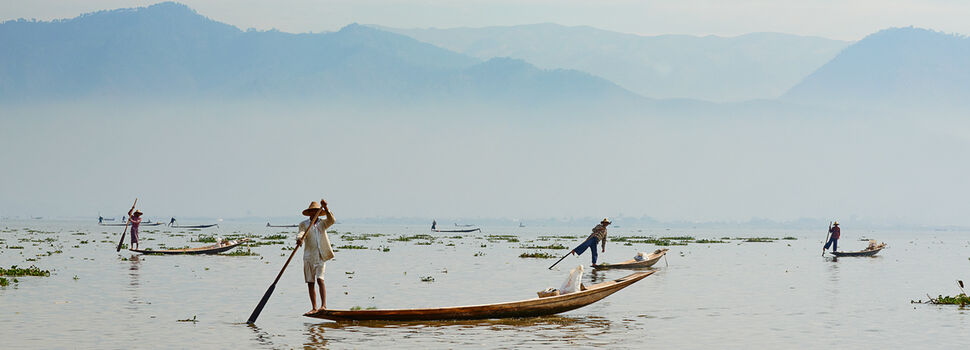 Photo INLE LAKE - Tuul et Bruno Morandi