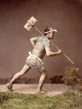 Photo Hikyaku, vers 1885 - Kusakabe Kimbei