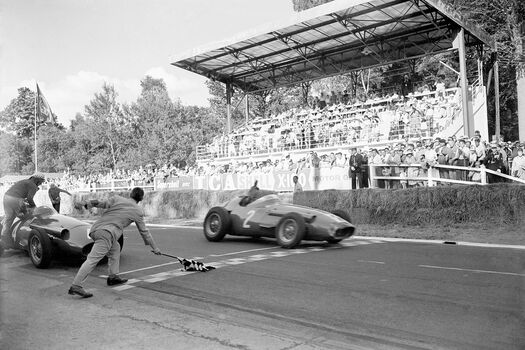 Photo Grand Prix ACF, Rouen 1957 - SPORTS PRESSE