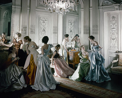 FRENCH MODELS IN 1948
