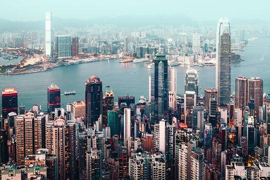 Photo HONG KONG CITYSCAPE II - Franck Bohbot
