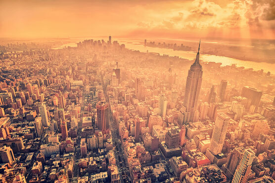 Photo A birds eye view across manhattan - Matthias Haker