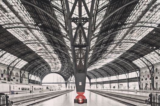 Photo Train station Barcelona - Franck Bohbot