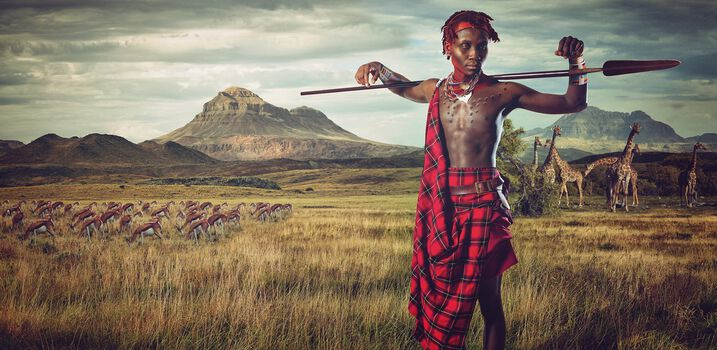 Photo Maasai - Plains of Africa - Lee Howell
