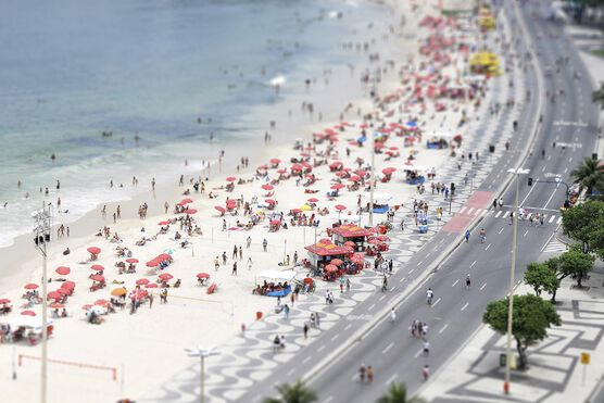 Photo Copacabana 4 - Richard Silver