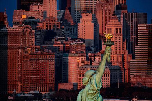 Photo Statue de la Liberté, USA - Yann Arthus-Bertrand