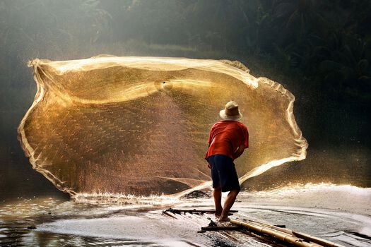 Photo Sengkol Fisherman - Andre Arment