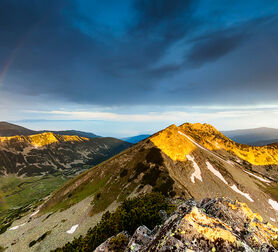 Photo Rainbow Over the Mountain - Evgeni Dinev