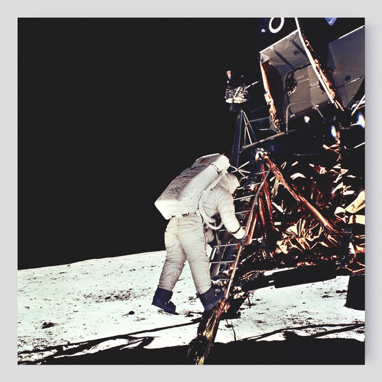 Photo Module lunaire Eagle - Neil Armstrong