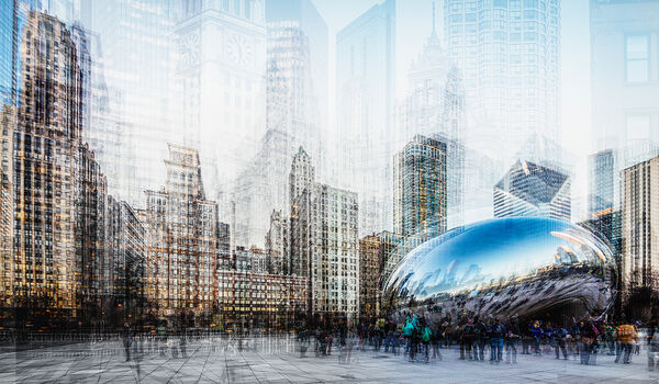 Photo CHICAGO CLOUD GATE - Laurent Dequick