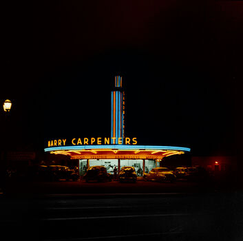 Photo 1942 A NEON SIGN CALIFORNIA - Marie-Lou Chatel