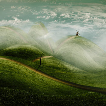 Photo Fantasielandschaft - Christine Ellger
