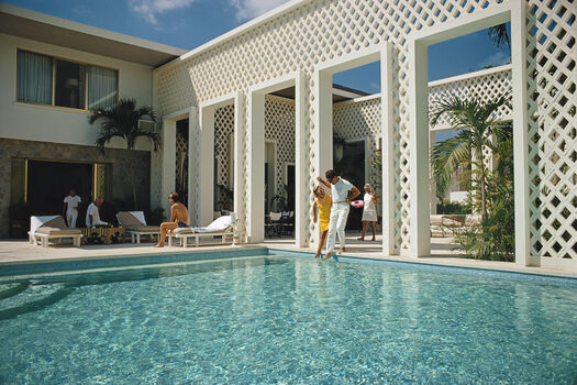 Photo Arturo Pani's villa - Slim Aarons