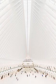 Photo WORLD TRADE CENTER MTA TRAIN STATION - Bernhard Hartmann