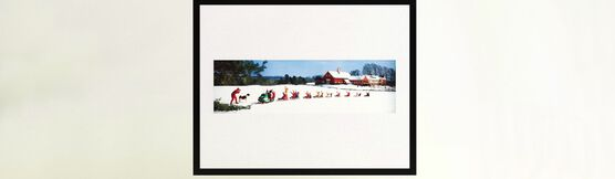 Photo SNOWMOBILE AND SLEDS 1969 - Colorama
