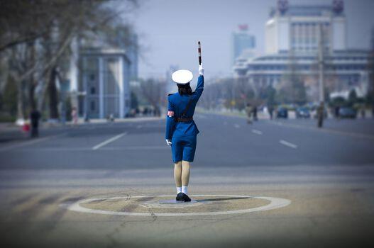 Photo Police Woman - Éric Lafforgue