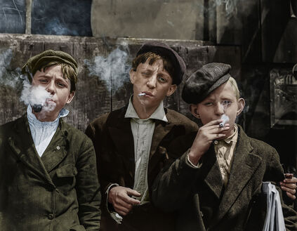 1910 THEY WERE ALL SMOKING MISSOURI