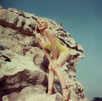 Photo Marilyn Monroe 1960 - KEYSTONE AGENCY