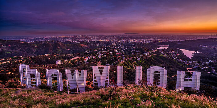 Photo HOLLYWOOD SIGN - Serge Ramelli