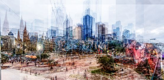 Photo Melbourne Federation Square - Laurent Dequick
