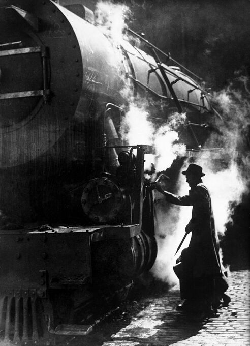 Photo Construction de locomotive 1946 - Jacques Boyer