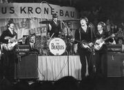 Beatles on the stage