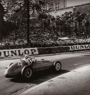 Grand Prix de Pau, 1949, Fangio Maserati