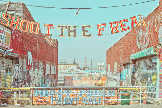 Photo SHOOT THE FREAK CONEY ISLAND - Franck Bohbot