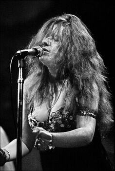 Photo Janis Joplin I - Elliott Landy