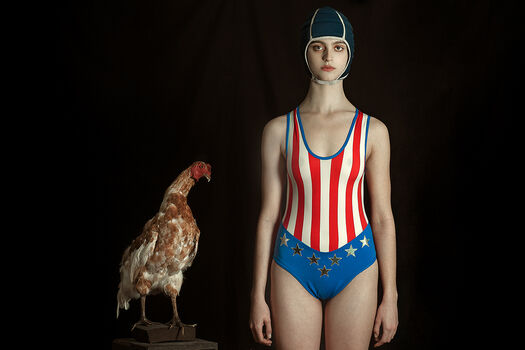Photo THE SWIMMER - Romina Ressia