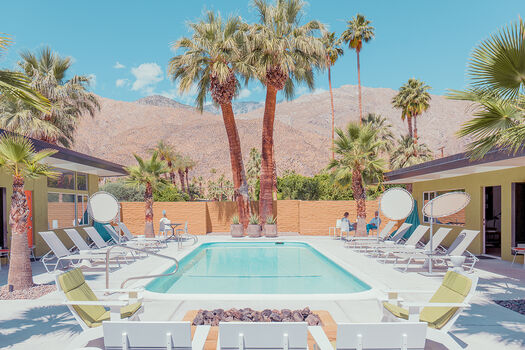 Photo QUIET POOL PALM SPRINGS - Franck Bohbot