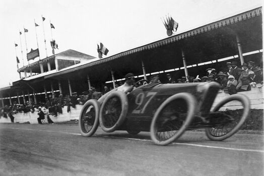 Photo Grand Prix de l'Automobile Club de France - Maurice-Louis Branger