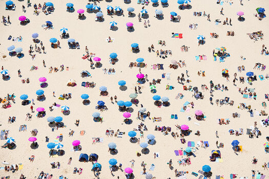 Photo BEACH PEOPLE - Richard Hirst