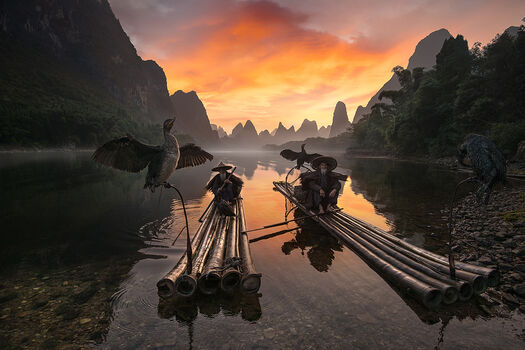 Photo MORNING ON LI RIVER - Daniel Metz