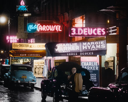 Photo 1948 52ND STREET NYC - Marie-Lou Chatel