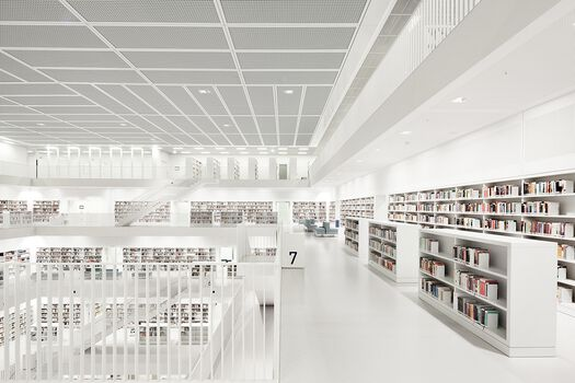 Photo Library Stuttgart Floor - Bernhard Hartmann