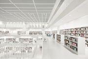 Library Stuttgart Floor