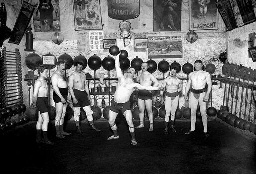 Photo Le cercle athlétique de Montmartre - Maurice-Louis Branger