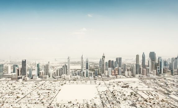 Photo Dubai Aerial IV - Johannes Heuckeroth