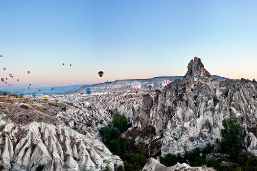 Photo Balloons Over Cappadocia - Matthias Barth