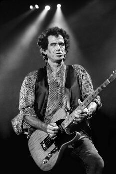 Photo Keith Richards New-York 1994 - Robert Salandro