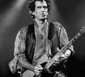 Photo Keith Richards New-York 1994 - Robert Salandro